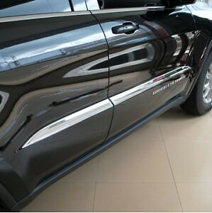 For-JEEP-Grand-Cherokee-SRT8-2012-2013-2014-Chrome-door-side-molding-cover-trim
