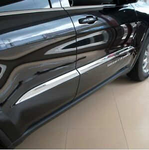 JEEP-Grand-Cherokee-SRT-SRT8-2012-2013-2014-Chrome-door-side-molding-cover-trim