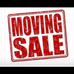 MOVING SALE ** everything must go**