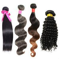Human hair / Cheveux humains / Brazilian Extensions brésiliennes
