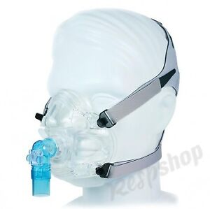 CPAP mask for side-sleeper/mouth breather