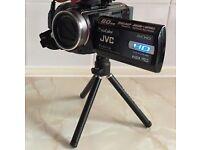 JVC Full HD Resolution 80 GB - Video Camera