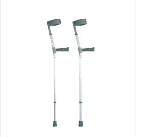 FREE ****Crutches Plastic Handle adjustable