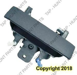 Tailgate Handle Textured Black Without Key Hole GMC Sierra 2007-2013