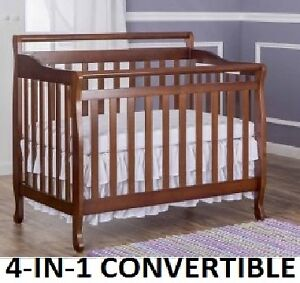NEW DREAM ON ME 4-IN-1 PORTABLE CRIB - ESPRESSO
