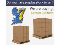 WANTED - WE BUY ANY STOCK - CLEARANCE, SURPLUS, EXCESS, BANKRUPT, END OF LINE - LIQUIDATION STOCK