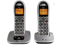 SOLD - BT 4000 Big button - dual handset phones
