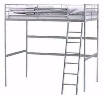 ikea loft double bed frame only