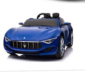 Licensed 12v Maserati Alfieri ride on car with remote control music and lights (leeds) only £175