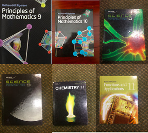 Highschool Textbooks (Math and Science)