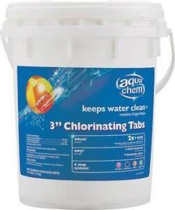 Chlorine Tablets Pool Chemicals Testing Ebay