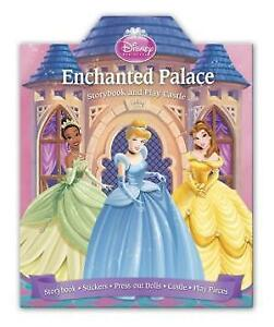 Disney Enchanted Palace Storybook & Play Castle