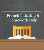 French Tutor available: homework help, tutoring, exam prep, etc.