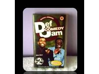 RUSSELL SIMMONS - DEF COMEDY JAM - ALL STARS VOLUME 2 - VHS TAPE - FOR SALE