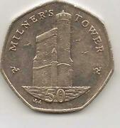 Isle of Man 50p Coins