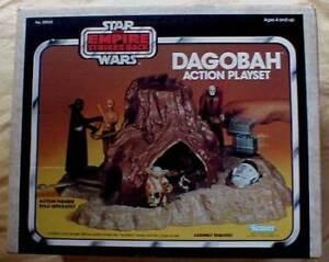 Star Wars Dagobah Action Playset - Kenner 1981