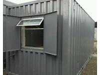 Portable cabin BRAND NEW KITCHEN & TOILET site welfare unit shipping container portable office