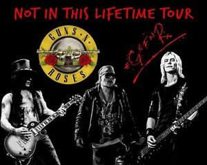 Guns N Roses August 24 2 Wicked Tickets Centre Row