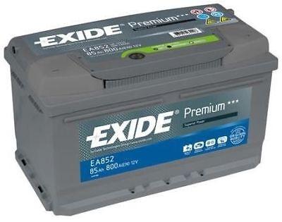 1x Exide Premium 85Ah 800CCA 12v Type 110 Car Battery 4 Year Warranty - EA852