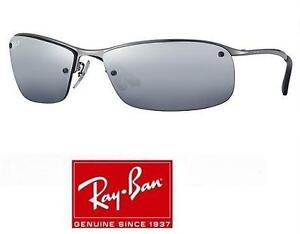 RAYBAN RB3183 SILVER MIRROR SUNGLASSES