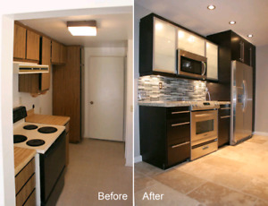 ▶▶⭐Kitchen Cabinets⭐Painting ⭐Staining⭐Countertop⭐Backsplash⭐▶▶