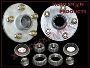 FORD-GALVANISED-BOAT-TRAILER-HUBS-BEARINGS-MARINE-PART