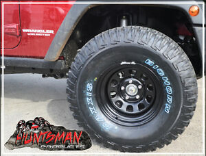 SUNRAYSIA-17x8-5-STUD-BLACK-STEEL-WHEEL-30-OFFSET-FITTED-WITH-265-70-17-MAXXIS