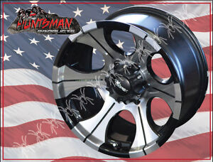 AMERICAN-RACING-15X8-DC2-ALLOY-MAG-WHEEL-4X4-DICK-CEPEK-NISSAN-TOYOTA-COMP