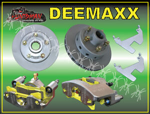 DEEMAXX-INTEGRAL-HYDRAULIC-DISC-BRAKE-KIT-FORD-PATTERN-BOAT-TRAILER