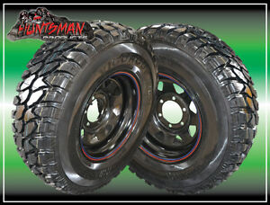 15X7-INCH-4WD-6-STUD-WHEEL-FITTED-HIFLY-235-75-MUD-TERRAIN-TYRE-235-75r15