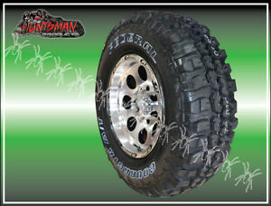 16X8 GT ALLOY MAG WHEEL  6/139.7 FITTED WITH 285 75 16 FEDERAL MUD 4X4 TYRE