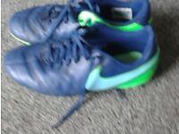 Nike grass football boots.