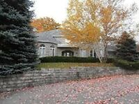 FOR RENT: Stouffville Estate Home on Approx 1 Acre