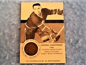 1949 George Armstrong rookie card reprint