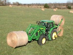 Round Bale Handler for straw, hay...