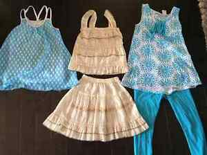 CUTE tank top and skirt sets (sz 7-8)