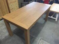Golden Oak Dining Table
