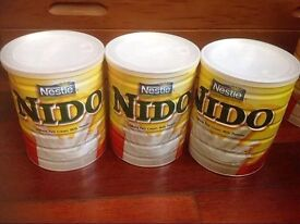 All types of Nido Milk for babies and adult