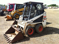 Spring Clean up/ bobcat services