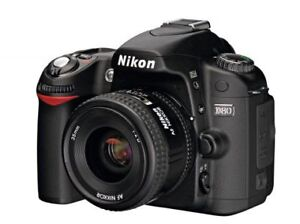 Nikon D80 with 3 lenses and accessories