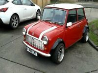 Classic mini full mot would make great summer project