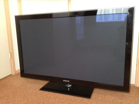 50 inch samsung tv in fulham london gumtree. Black Bedroom Furniture Sets. Home Design Ideas