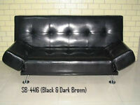 BRAND NEW FAUX LEATHER CLICK KLACK WITH ARMS ON THE SIDE