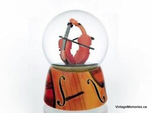 Brand new musical water globe with ballerina butterfly Sale
