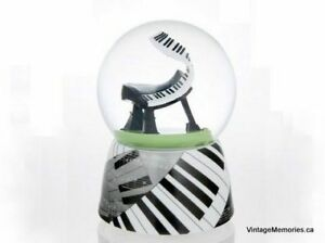 Brand new ballerina Piano butterfly water globes Sale