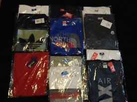 Mens tshirts and 1 tracksuit