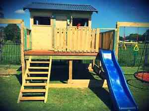 Custom cubby houses and play forts Brisbane City Brisbane North West Preview