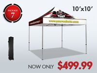 INSTANT CANOPY TENTS,FLAGS,TABLE COVERS,BANNERS