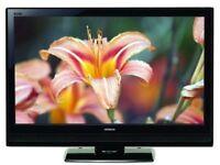 hitachi l42vk04u hd tv. free view build in. good condition.