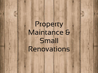 Property Maintance & Small Renovations